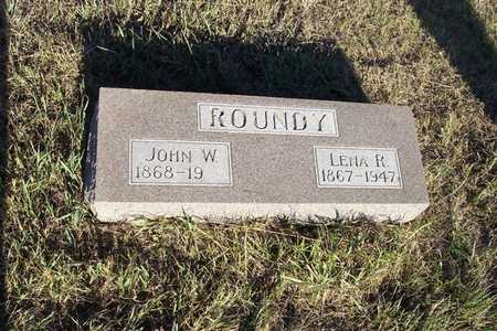ROUNDY, JOHN W. - Shelby County, Iowa | JOHN W. ROUNDY