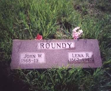 ROUNDY, JOHN WASHINGTON & LENA R. - Shelby County, Iowa | JOHN WASHINGTON & LENA R. ROUNDY