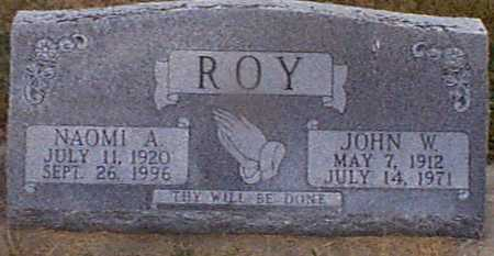 ROY, JOHN W - Shelby County, Iowa | JOHN W ROY