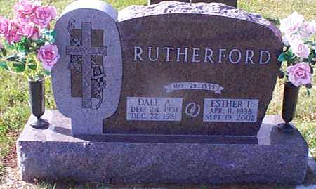 RUTHERFORD, ESTHER L - Shelby County, Iowa | ESTHER L RUTHERFORD