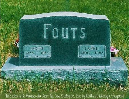 FOUTS, SCOTT & CARRIE - Shelby County, Iowa | SCOTT & CARRIE FOUTS