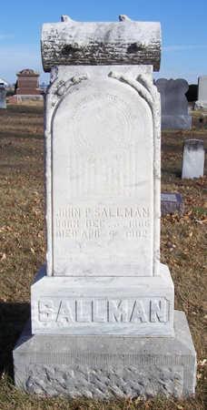 SALLMAN, JOHN P. - Shelby County, Iowa | JOHN P. SALLMAN