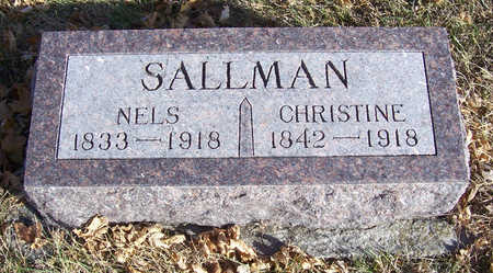 SALLMAN, CHRISTINE - Shelby County, Iowa | CHRISTINE SALLMAN