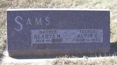 SAMS, GLADYS M. (MOTHER) - Shelby County, Iowa | GLADYS M. (MOTHER) SAMS
