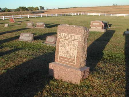 SAMUELS, WILTON - Shelby County, Iowa | WILTON SAMUELS
