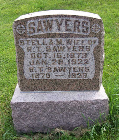SAWYERS, R. T. - Shelby County, Iowa | R. T. SAWYERS