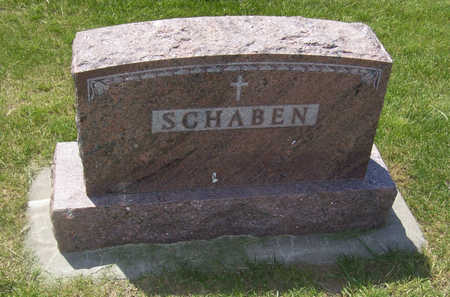 SCHABEN, EDITH (LOT) - Shelby County, Iowa | EDITH (LOT) SCHABEN