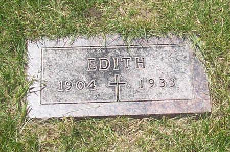 SCHABEN, EDITH - Shelby County, Iowa   EDITH SCHABEN