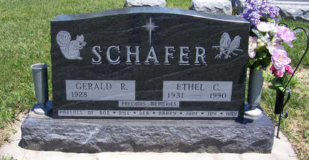 SCHAFER, ETHEL C. - Shelby County, Iowa | ETHEL C. SCHAFER