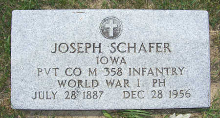 SCHAFER, JOSEPH - Shelby County, Iowa | JOSEPH SCHAFER