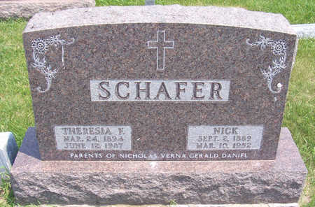 BEHRENDT SCHAFER, THERESIA F. - Shelby County, Iowa | THERESIA F. BEHRENDT SCHAFER