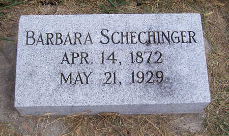 SCHECHINGER, BARBARA - Shelby County, Iowa | BARBARA SCHECHINGER