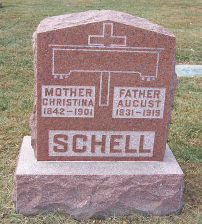 SCHELL, AUGUST - Shelby County, Iowa | AUGUST SCHELL