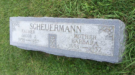 SCHEUERMANN, BARBARA (MOTHER) - Shelby County, Iowa | BARBARA (MOTHER) SCHEUERMANN