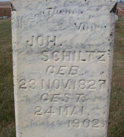 SCHILTZ, JOH. (CLOSE UP) - Shelby County, Iowa | JOH. (CLOSE UP) SCHILTZ