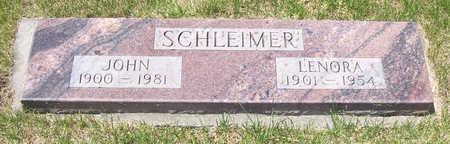 SCHLEIMER, JOHN - Shelby County, Iowa | JOHN SCHLEIMER