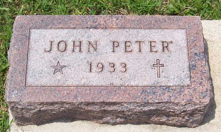 SCHMITZ, JOHN PETER - Shelby County, Iowa   JOHN PETER SCHMITZ