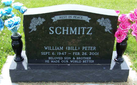 SCHMITZ, WILLIAM PETER - Shelby County, Iowa | WILLIAM PETER SCHMITZ