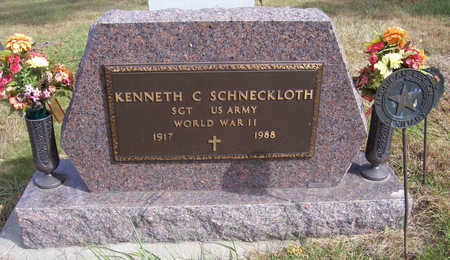 SCHNECKLOTH, KENNETH C. (MILITARY) - Shelby County, Iowa | KENNETH C. (MILITARY) SCHNECKLOTH
