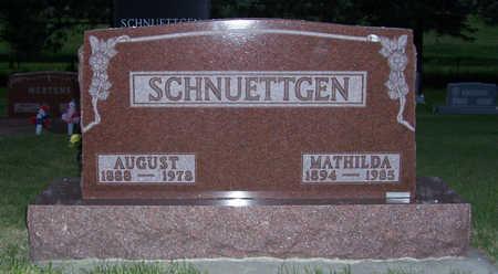 SCHNUETTGEN, MATHILDA - Shelby County, Iowa | MATHILDA SCHNUETTGEN