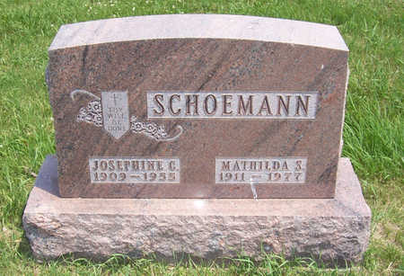 SCHOEMANN, JOSEPHINE C. - Shelby County, Iowa | JOSEPHINE C. SCHOEMANN