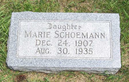 SCHOEMANN, MARIE - Shelby County, Iowa | MARIE SCHOEMANN