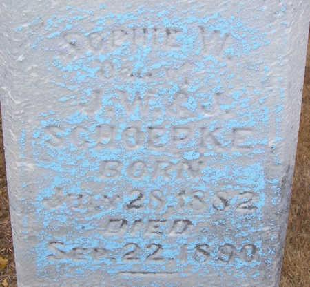 SCHOEPKE, SOPINE W. (CLOSE-UP) - Shelby County, Iowa   SOPINE W. (CLOSE-UP) SCHOEPKE