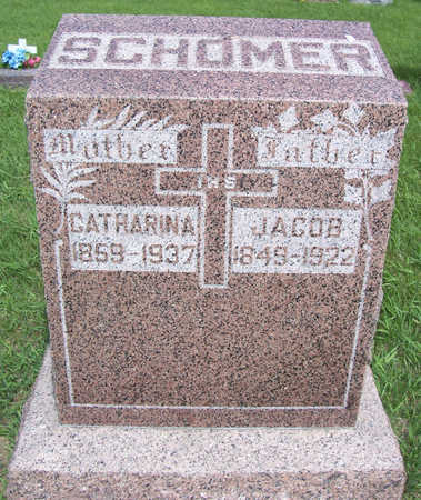 SCHOMER, CATHARINA - Shelby County, Iowa | CATHARINA SCHOMER