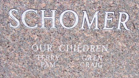 SCHOMER, ROBERT M. & MILDRED E. (REVERSE) - Shelby County, Iowa | ROBERT M. & MILDRED E. (REVERSE) SCHOMER