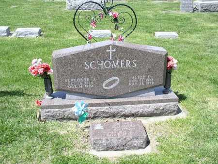 SCHECHINGER SCHOMERS, ALICE - Shelby County, Iowa | ALICE SCHECHINGER SCHOMERS