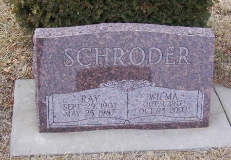 SCHRODER, WILMA - Shelby County, Iowa | WILMA SCHRODER