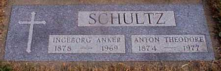 SCHULTZ, ANTON THEODORE REV - Shelby County, Iowa | ANTON THEODORE REV SCHULTZ