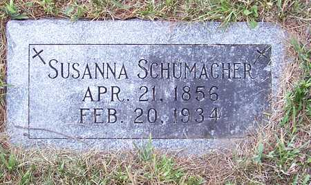 SCHUMACHER, SUSANNA - Shelby County, Iowa | SUSANNA SCHUMACHER