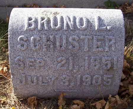 SCHUSTER, BRUNO L. - Shelby County, Iowa | BRUNO L. SCHUSTER