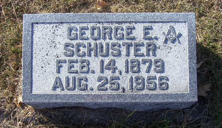SCHUSTER, GEORGE E. - Shelby County, Iowa | GEORGE E. SCHUSTER