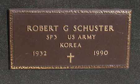 SCHUSTER, ROBERT G. (MILITARY) - Shelby County, Iowa | ROBERT G. (MILITARY) SCHUSTER