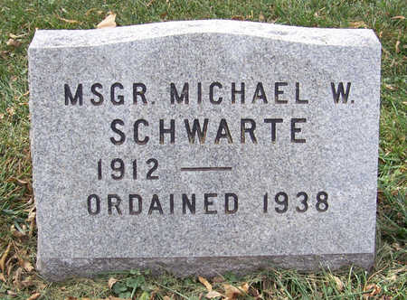 SCHWARTE, MICHAEL W. - Shelby County, Iowa | MICHAEL W. SCHWARTE