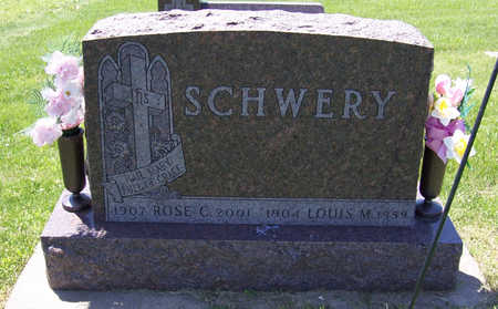 SCHWERY, LOUIS M. - Shelby County, Iowa | LOUIS M. SCHWERY