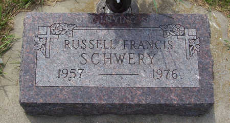 SCHWERY, RUSSELL FRANCIS - Shelby County, Iowa | RUSSELL FRANCIS SCHWERY