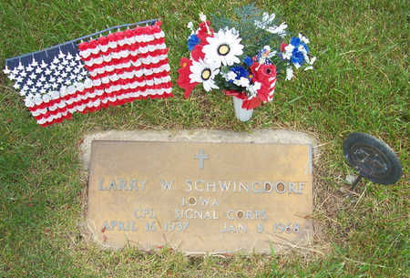 SCHWINGDORF, LARRY W. - Shelby County, Iowa | LARRY W. SCHWINGDORF