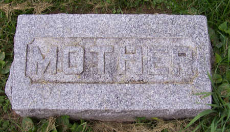 SCOTT, ELIZABETH (MOTHER) - Shelby County, Iowa | ELIZABETH (MOTHER) SCOTT