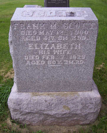 SCOTT, ELIZABETH - Shelby County, Iowa | ELIZABETH SCOTT