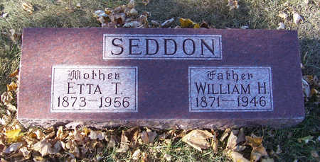 SEDDON, WILLIAM H. (FATHER) - Shelby County, Iowa | WILLIAM H. (FATHER) SEDDON