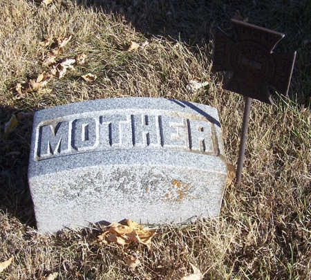 SHAFFER, ELIZABETH (MOTHER) - Shelby County, Iowa | ELIZABETH (MOTHER) SHAFFER