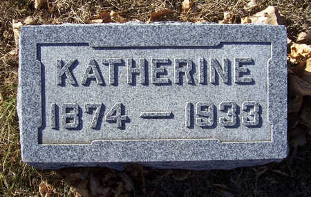 SHAFFER, KATHERINE - Shelby County, Iowa | KATHERINE SHAFFER