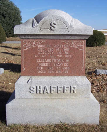 SHAFFER, ROBERT - Shelby County, Iowa | ROBERT SHAFFER