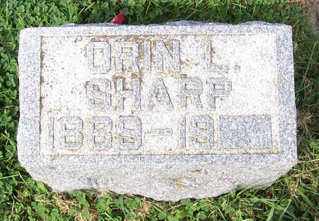 SHARP, ORIN L. - Shelby County, Iowa | ORIN L. SHARP