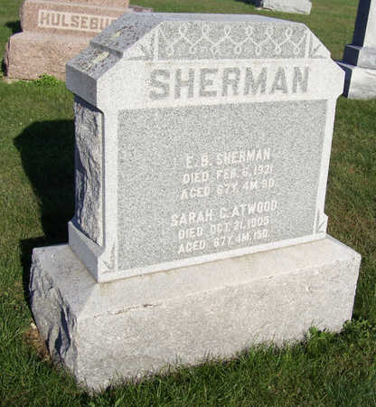 SHERMAN, SARAH C. - Shelby County, Iowa | SARAH C. SHERMAN