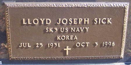 SICK, LLOYD JOSEPH (MILITARY) - Shelby County, Iowa | LLOYD JOSEPH (MILITARY) SICK