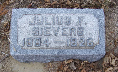 SIEVERS, JULIUS F. - Shelby County, Iowa | JULIUS F. SIEVERS